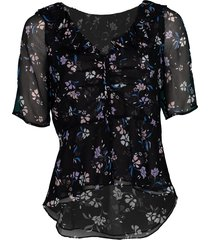 black ayia blouse