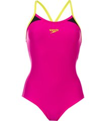 womens splice thinstrap racerback swimsuit