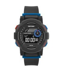 relógio digital mormaii masculino - mo9081aa/8a preto
