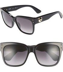women's moschino 56mm gradient lens sunglasses -
