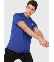 camiseta azul-blanco under armour ua tech