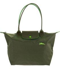 longchamp le pliage club shoulder bag s green