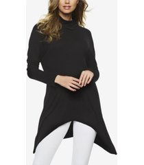 felina rib turtleneck tunic