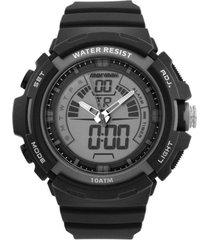 relógio mormaii analógico/digital moad089028c