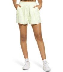 women's bp. easy soft woven shorts, size medium - green
