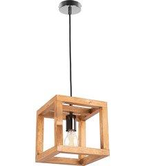 lampa wisząca loft handmade eko korbe mini
