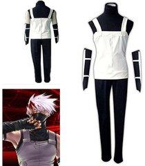 naruto kakashi anbu cosplay costume new outfit