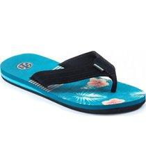 sandalia azul maui maui and sons