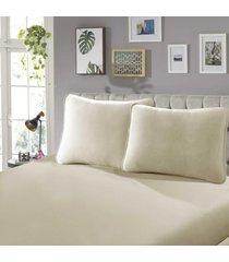 fronha para travesseiro confort lisa 1 peã§a nozes - sbx tãªxtil - bege - dafiti