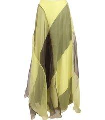 arthur arbesser polyester skirt
