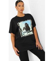 gelicenseerd oversized ty dolla sign t-shirt, black