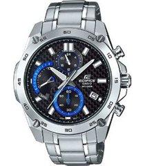 reloj casio efr_557cd_1av plateado metal