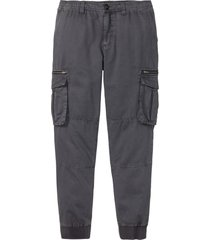 pantaloni cargo regular fit straight (grigio) - rainbow