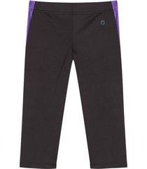 legging deportivo energico color morado, talla s