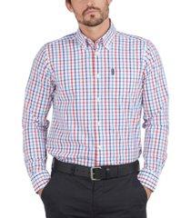 barbour men's tattersall shirt