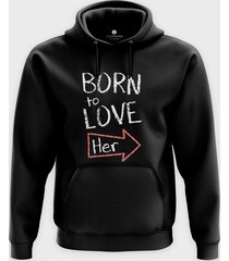 bluza born to love her