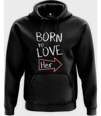 bluza born to love her
