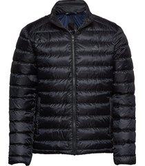 d1. the light down jacket gevoerd jack zwart gant