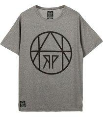 t-shirt circle gray