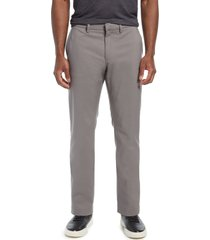 men's nordstrom non-iron flexweave men's chino pants, size 40 x 32 - grey