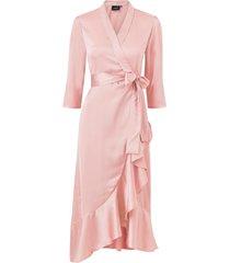 omlottklänning objalina 3/4 flounce dress