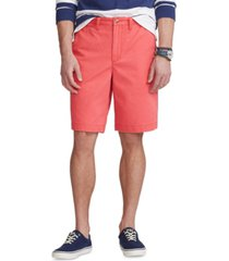 polo ralph lauren men's 10-inch relaxed fit chino shorts