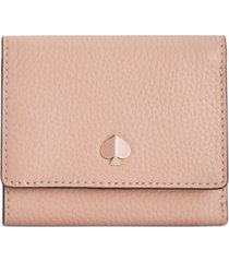 kate spade new york polly small trifold leather wallet