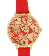 reloj rojo versace 19.69