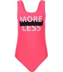 body more less color rosado, talla 10