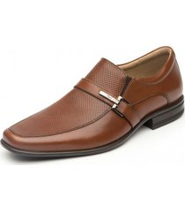 zapato hebilla formal oficina salamanca tan flexi