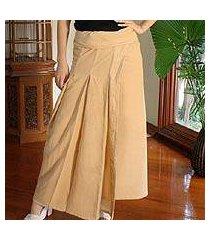 cotton wrap around skirt, 'thai sands' (thailand)