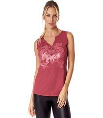 blusa regata vestem reg336 p rosa escuro