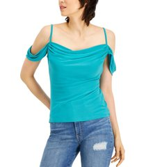 inc draped cold-shoulder top, created for macy's
