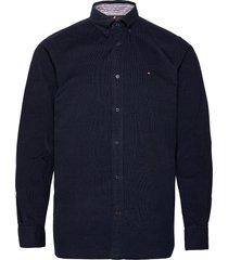 flex corduroy shirt overhemd casual blauw tommy hilfiger