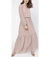 sukienka szyfonowa maxi