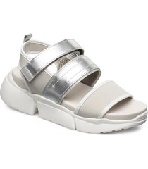 stb-mala sport l shoes summer shoes flat sandals silver shoe the bear