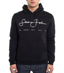 sean john empower script logo men's hoodie