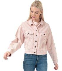 womens slouch trucker jacket