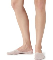 calzedonia invisible linen socks woman pink size 34-36