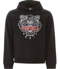 kenzo tiger print hoodie
