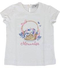 monnalisa basket t-shirt