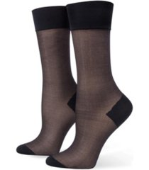 hue women's tulle trouser socks