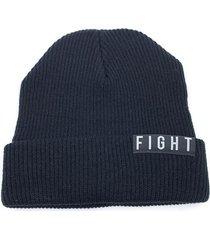 gorro de lana  negro fight for your right