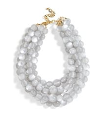 women's baublebar cassarah beaded multistrand necklace
