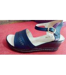 sandalias plataforma jj cow shoes ref 206