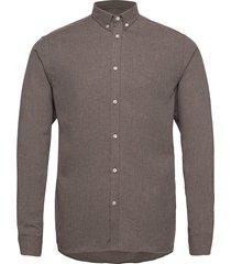 desert shirt skjorta casual brun les deux