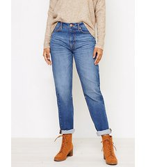 loft boyfriend jeans in vintage dark wash