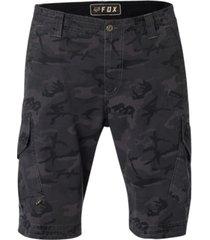 fox men's camo cargo shorts