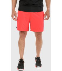 pantaloneta rojo-negro under armour mk1 7in graphic