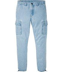 jeans cargo regular fit straight (blu) - rainbow